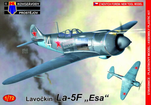 "KOVOZAVODY PROSTEJOV 1//72 Modèle Kit 72175 LAVOCHKIN La-5F /""Aces/'s"