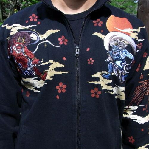 Totem katoen Tatoo Mythe jas borduurwerk Nieuwe Phoenix Japanse jas Sukajan heren 3j54RLA