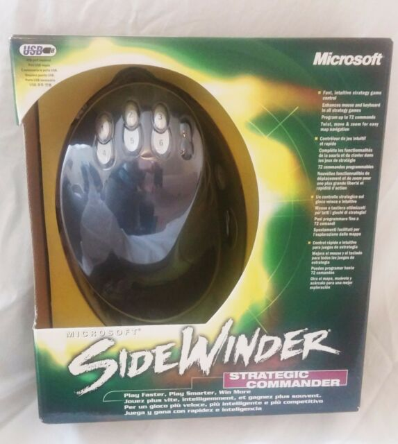 MICROSOFT SIDEWINDER Strategic Commander Mouse