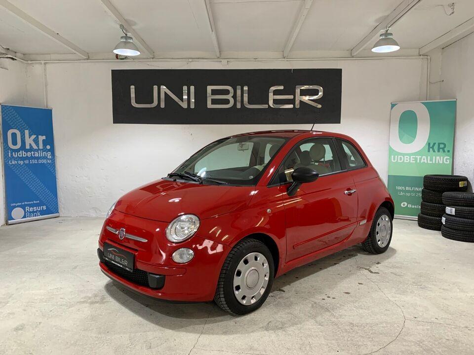Fiat 500 1,2 Pop Benzin modelår 2008 km 165000 nysynet ABS