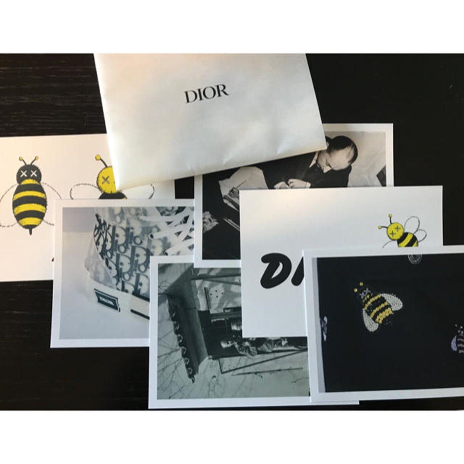 Dior x Kaws Post Coched 6 Set Kim Jones Limitado Japón Novedad Nuevo
