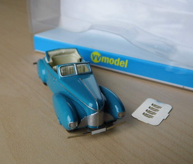 Sodomka a50 dynamique CABRIOLET de 1939 - 1 87 VV-MODEL
