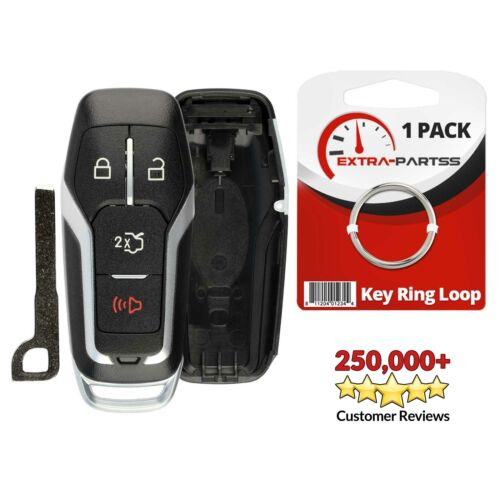 For 2015 2016 2017 2018 Ford Mustang 4B Smart Remote Key Prox Fob Case Shell