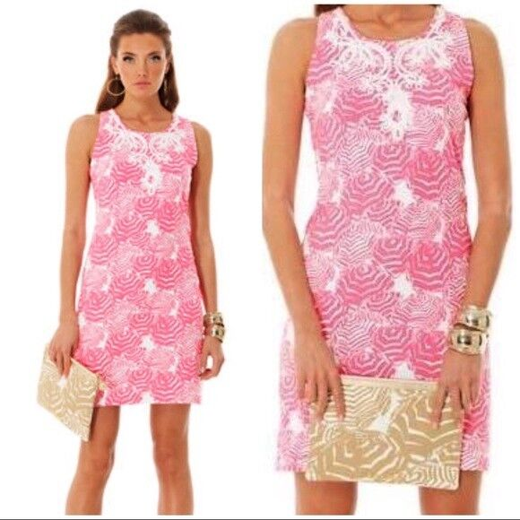 NWT LILLY PULITZER M FOSTER SHIFT HOTTY Rosa OH CABANA BOY