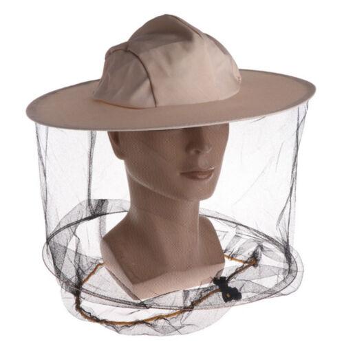 Imkerei-Hut mit Schleier Moskito-Insekten-Fliegenmaske-Mütze Gesichtsschutz