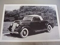 1936 Ford Roadster 12 X 18 Photo Picture