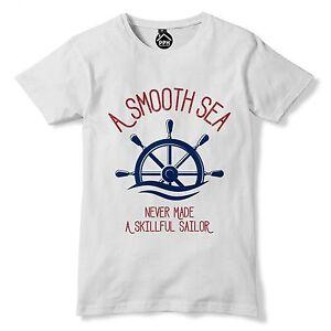 aa7289249 Image is loading Skillful-Sailor-Funny-Mens-Tshirt-Sailing-Royal-Navy-
