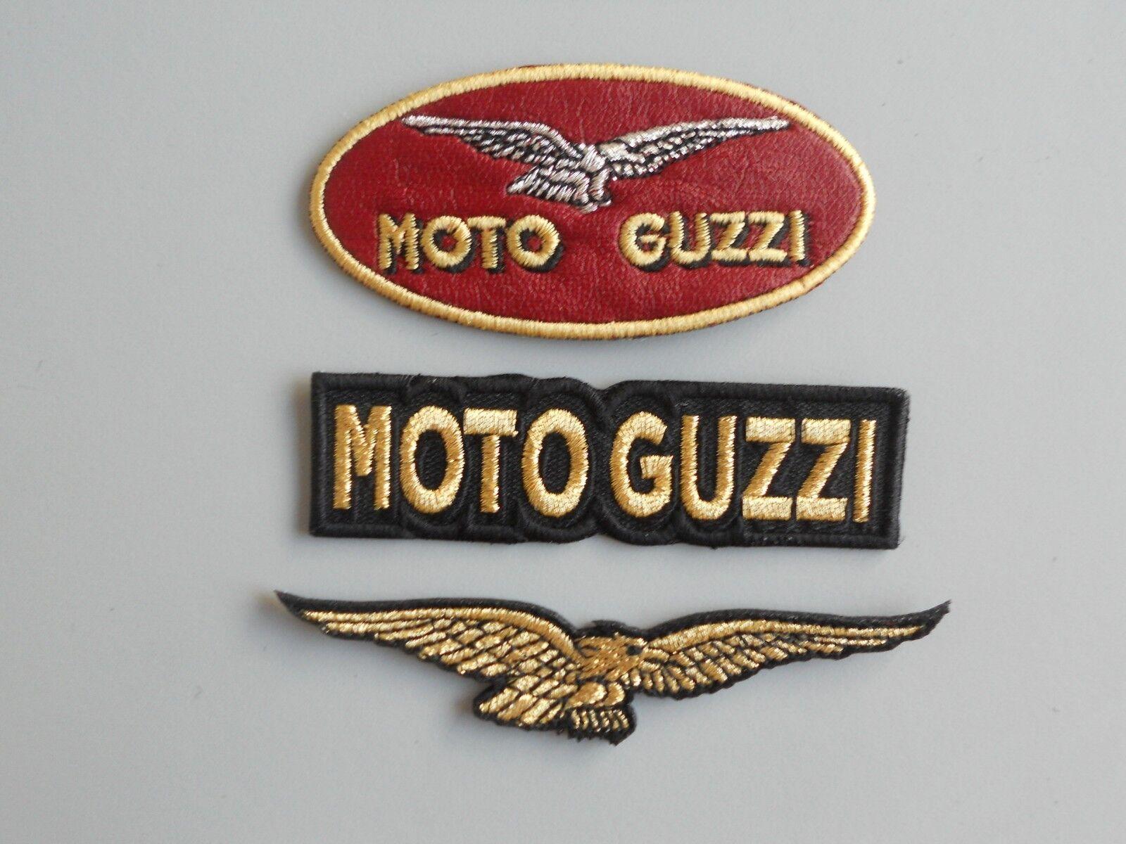 PATCH MOTO GUZZI PZ 3 RICAMATE TERMOADESIVE - REPLICA - COD 413