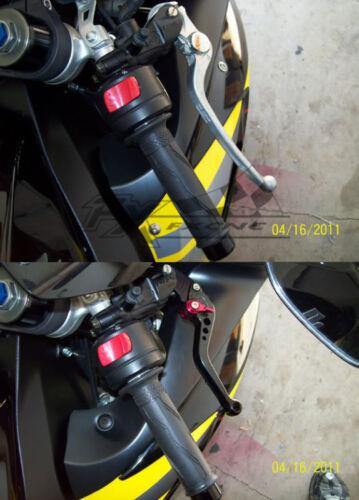 Kawasaki NINJA 650R//ER-6F//ER6N 2009-2016 Brake Clutch levers Short//Long CNC Pair