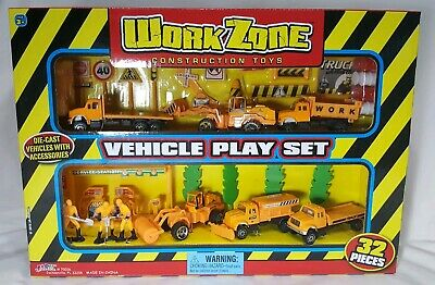 Mozlly Construction Playset Vehicle Playset