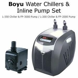 Refroidisseurs d'eau Boyu et pompes en ligne