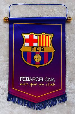 Fc Barcelona Flag Logo Us Football Soccer League Team Club Emblem Decor Ebay