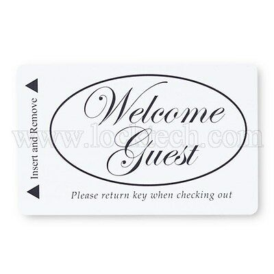 Welcome Guest Generic Magstripe Hotel Keycards Business & Industrial Case Of 1,000