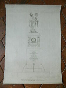General-DASAIX-gravure-monument-a-la-memoire-Place-Thionville-Paris-AN-9-1801