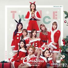 TWICE-[TWICEcoaster:LANE 1] 3rd Mini Album CHRISTMAS CD+Book+3p Card+1p Sticker
