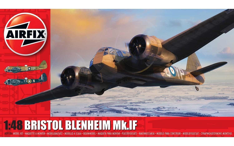 Airfix 1 48 Bristol Blenheim Mk.if  A09186