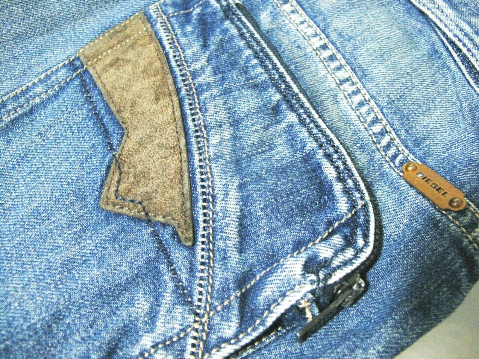 9b5fdce5 AUTHENTIC Men's DIESEL @ POIAK 8XR Regular Slim TAPERED Denim 30 x 29 HOT  Jeans nzyspu2663-Jeans