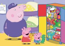 NEW Jumbo Peppa Pig All Tidied Away 35 piece jigsaw puzzle Age 3+