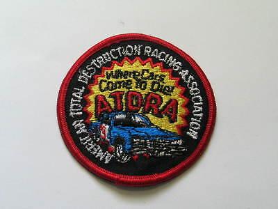 100% Wahr American Gesamt Destruction Rennen Association Aufnäher (#2133) Hohe QualitäT Und Preiswert