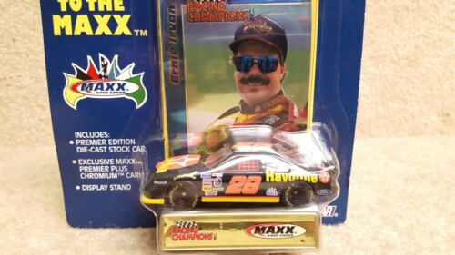New 1994 Racing Champions 1:64 NASCAR Ernie Irvan Texaco Havoline Ford Maxx #28