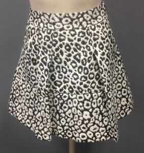 New Banana Republic Skirt 00p White Lace Overlay Pleated A-line Mini Lined Women's Clothing Skirts