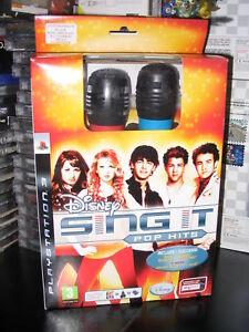 DISNEY-SING-IT-POP-HITS-2-MIC-NUOVO-ITALIANO-SONY-PS3