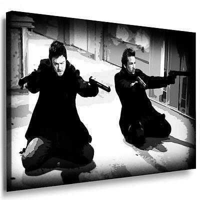 Leinwandbild Boondock saints Bilder mit Keilrahmen Kunstdrucke Wandbild k.Poster