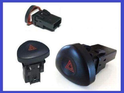 Interrupteur de Warning Renault Clio 2 Tous modèles à partir de 2001