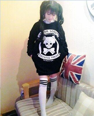 Girl Sweater Cosplay Sailor Moon Kawaii Harajuku Coat Sweat Hoodies Hoodie