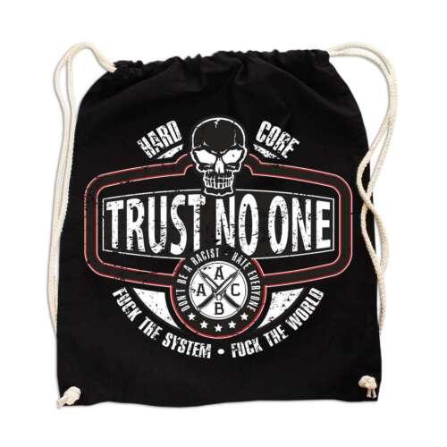 Rucksack Tasche Beutel Trust no one Skull haters tattoo ink oldschool Schädel