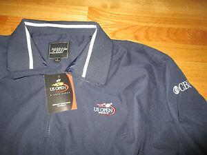 2004 US Open TENNIS 1/4 Zippered CBS (LG) Jacket w/ Tags ROGER FEDERER Champion