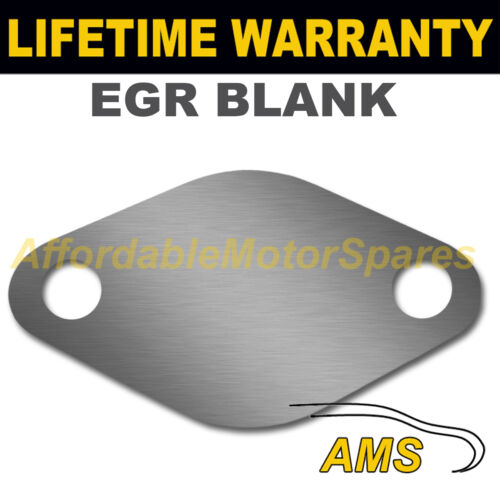 FORD TRANSIT CONNECT FOCUS GALAXY MONDEO EGR VALVE BLANKING PLATE 1.5MM STEEL ND
