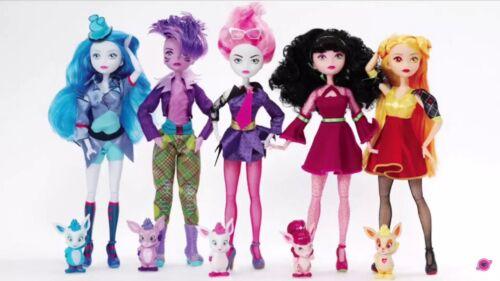 "Madame Alexander SpacePop Princess Dolls Reah Luna Athena Juno Hera 11/"" Set of 5"