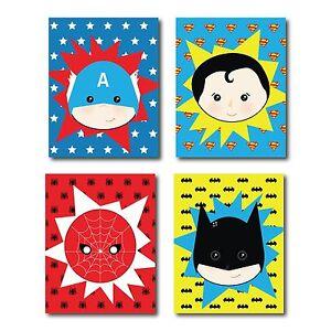 Image Is Loading Superhero Nursery Superhero Wall Art Marvel Wall Art