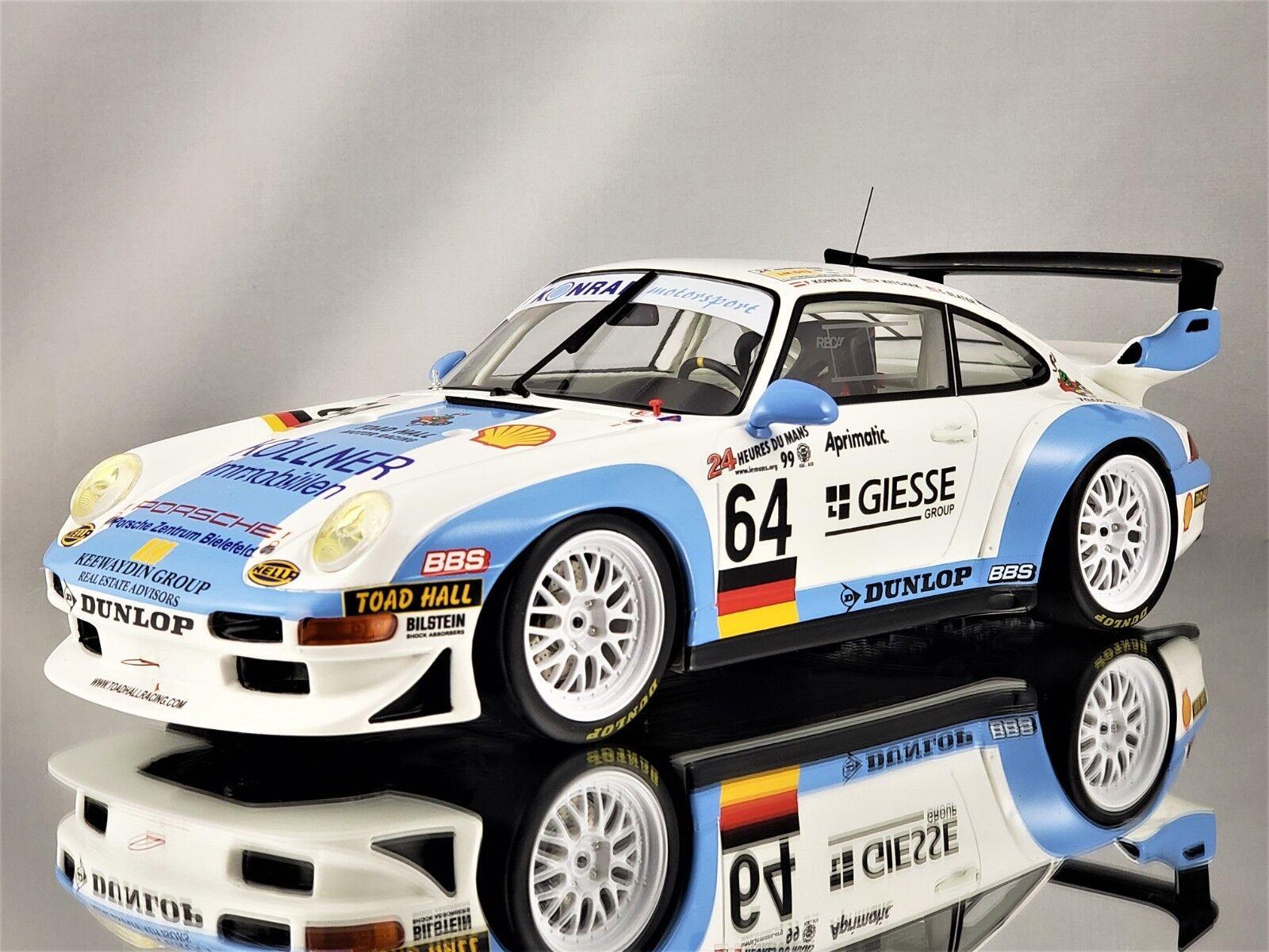 GT Spirit Porsche 911 (993) GT2 1999 24h Le Mans  64 Konrad Motorsport 1 18
