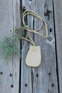 Leather-necklace-bag-Crystal-neck-bag-Medicine-bag