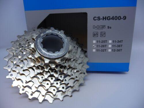 CASSETTE Shimano 9 Speed HG400 Alivio MTB Hybird Cyclocross Mountain Bike