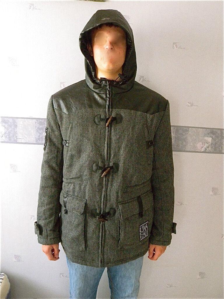 Manteau laine KANABEACH brighton size L valeur  NEUF ETIQUETTE