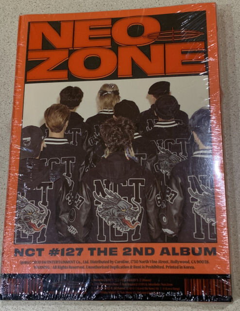 NCT #127 – The 2nd Album 'NCT #127 Neo Zone [2020, CD, C Version] New