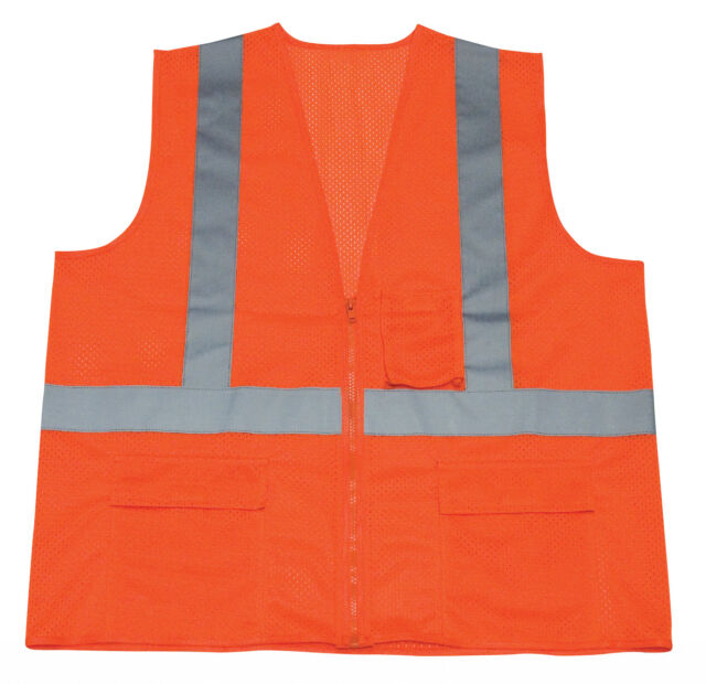 Ironwear Class 2 Safety Vest - Orange - Size XL - 1284-OZ