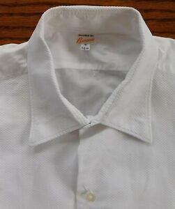 Ensoleillé Vintage Marcella Shirt Bon Soir Taille 15.5-16 Homme Formel Cravate Noire Robe Wear-afficher Le Titre D'origine Prix De Vente