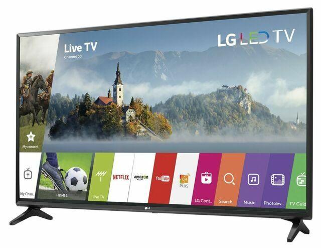 """LG 43LJ5500 43"""" 1080p HDR LED Internet TV"""