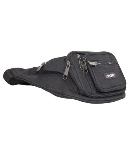 New Men/'s Travel Waist Belt Bum Bag Sports 268 Casual Lightweight Small Fanny