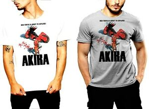 Akira T-shirt Neo Tokyo Must Explode Vintage Anime