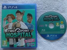 TWO POINT HOSPITAL PS4 PLAYSTATION 4 V.G.C. FAST POST ( simulation game )