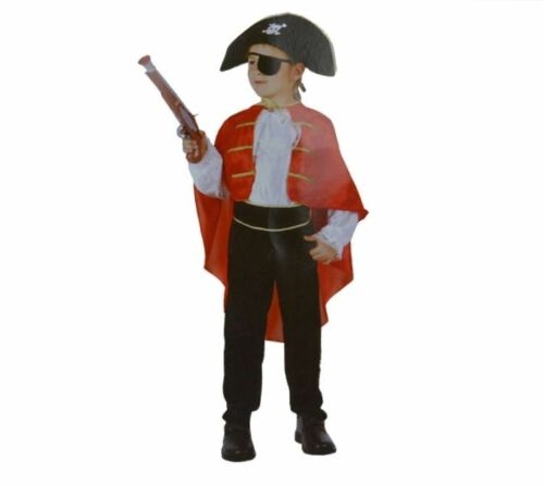4 to 6 y.o. Bermoni Boy Pirate dressing up costume PIR-02