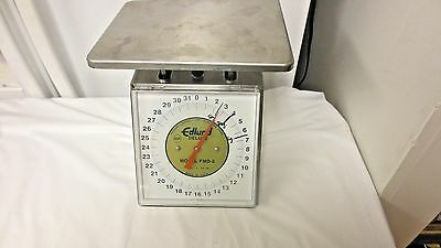 Older Edlund Deluxe USA Portion Control Scale FMD-2; 32 oz x 1/8 oz-AS IS