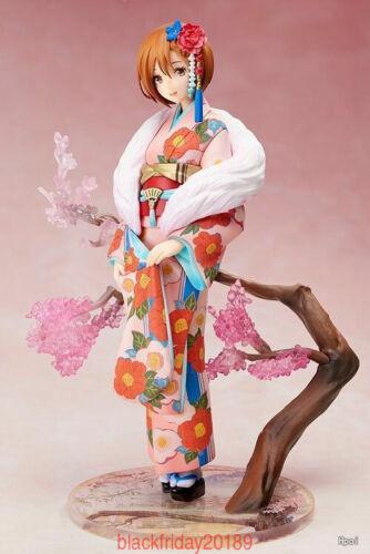 New Anime Hatsune Miku Kimono MEIKO PVC Figure Collectibles Toys Hot BOX