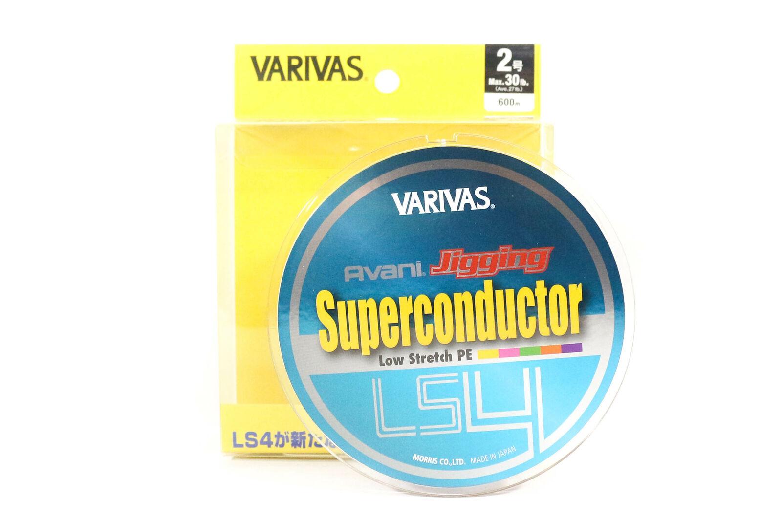 Varivas P.E Line Avani Jigging Super Conductor 600m P.E 2 Max 30lb (2076)