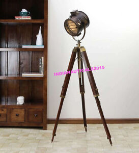 Details about  /NAUTICAL STUDIO ROYAL FLOOR LAMP TRIPOD STAND HOME DECORATIVE